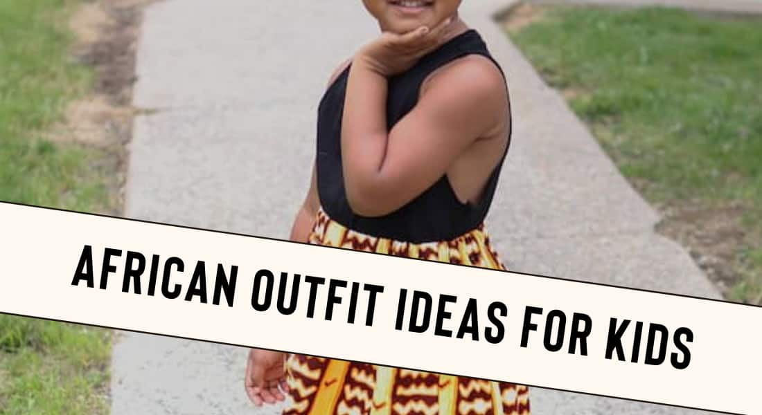African Outfits for Kids