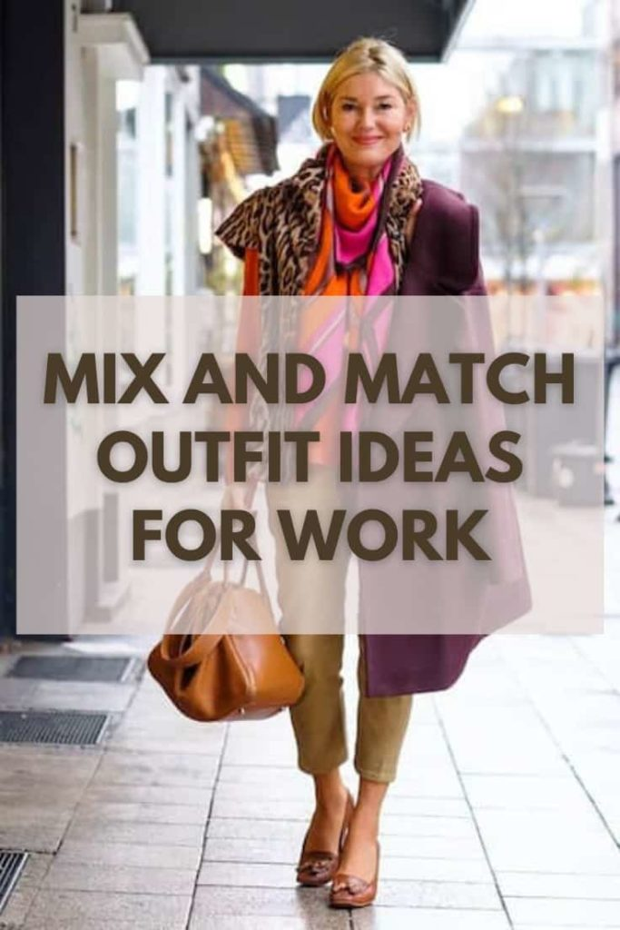 Comfy Mix and Match Outfit Ideas for Work