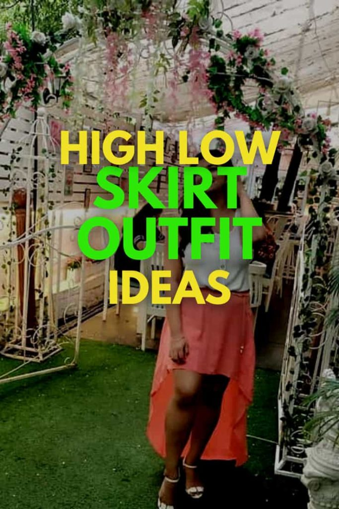 High Low Skirt Outfits