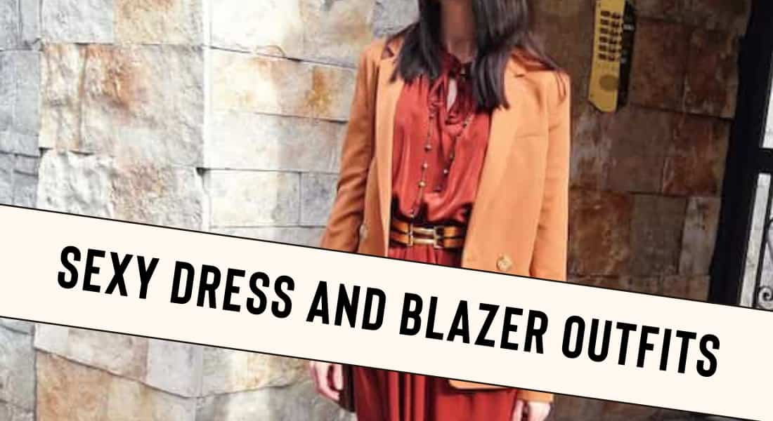 Dress and Blazer Outfits