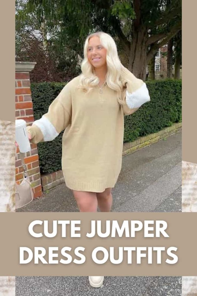 Fashionable Jumper Dress Outfit Ideas