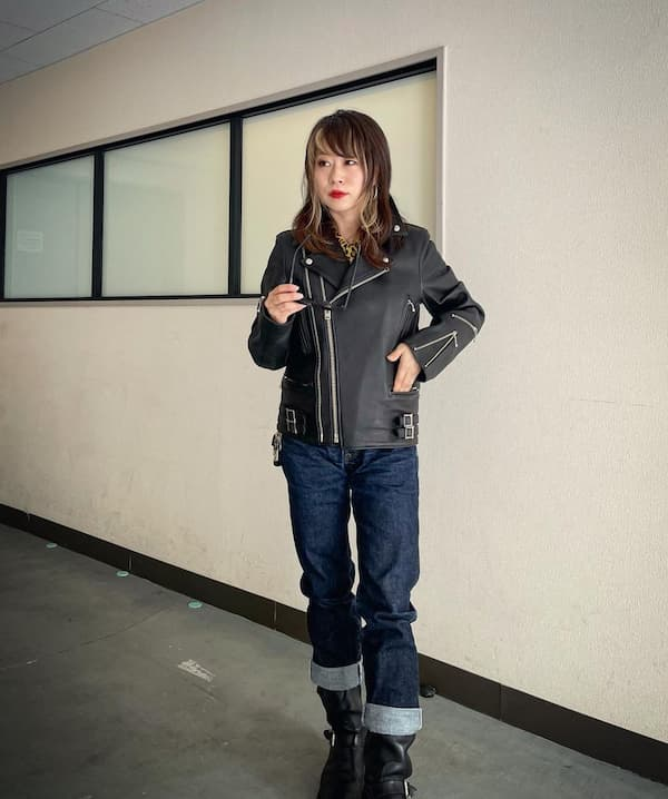 Leather Jacket + Jean Trouser + Boots