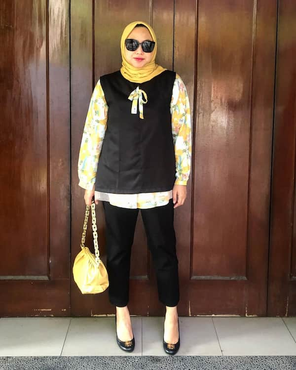 Mix and Match Idea for the Hijab Wearing Ladies