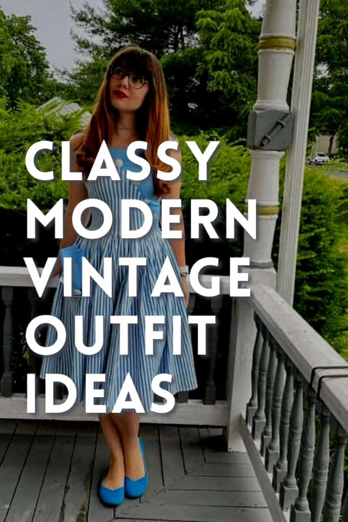 Modern Vintage Outfit Ideas