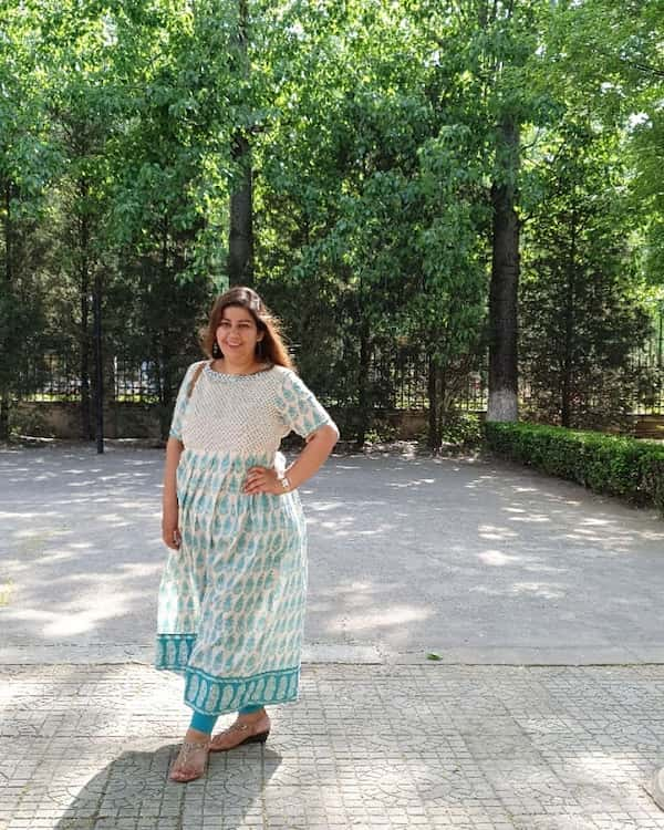 Summer Outfit for Older Plus Size Women