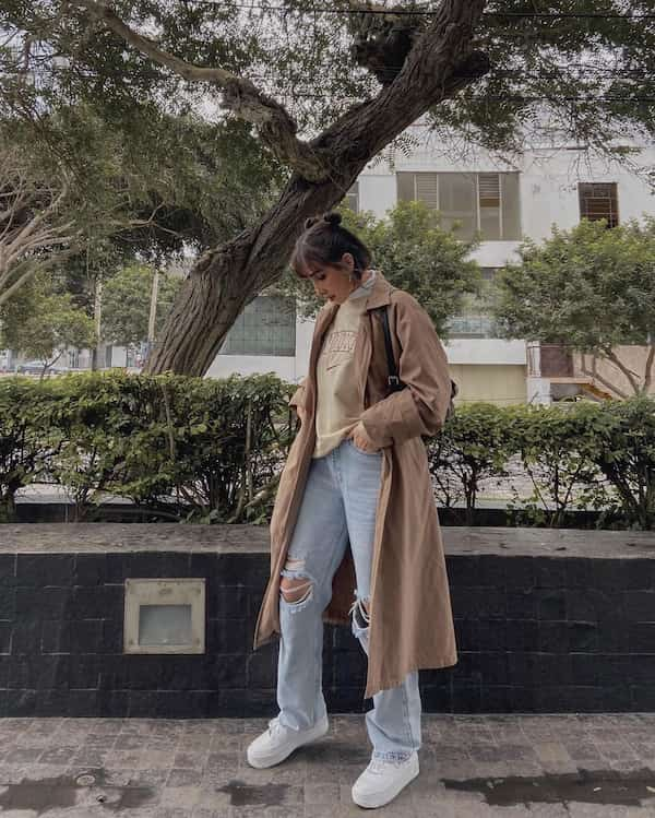 Trench Coat Outfit for Winter