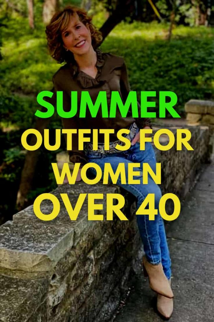 Cute Summer Outfits for Women Over 40