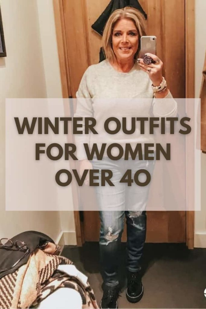 Cute Winter Outfits for Women Over 40