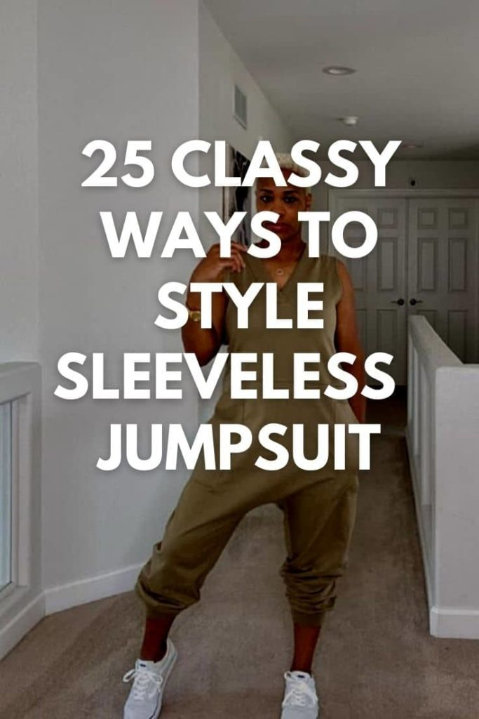 Sleeveless Jumpsuit Outfits